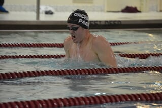 Duffy Swims His Way to States