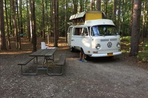 Get on the Bus: Claire Pawlak's VW Bus the Best Car in the School