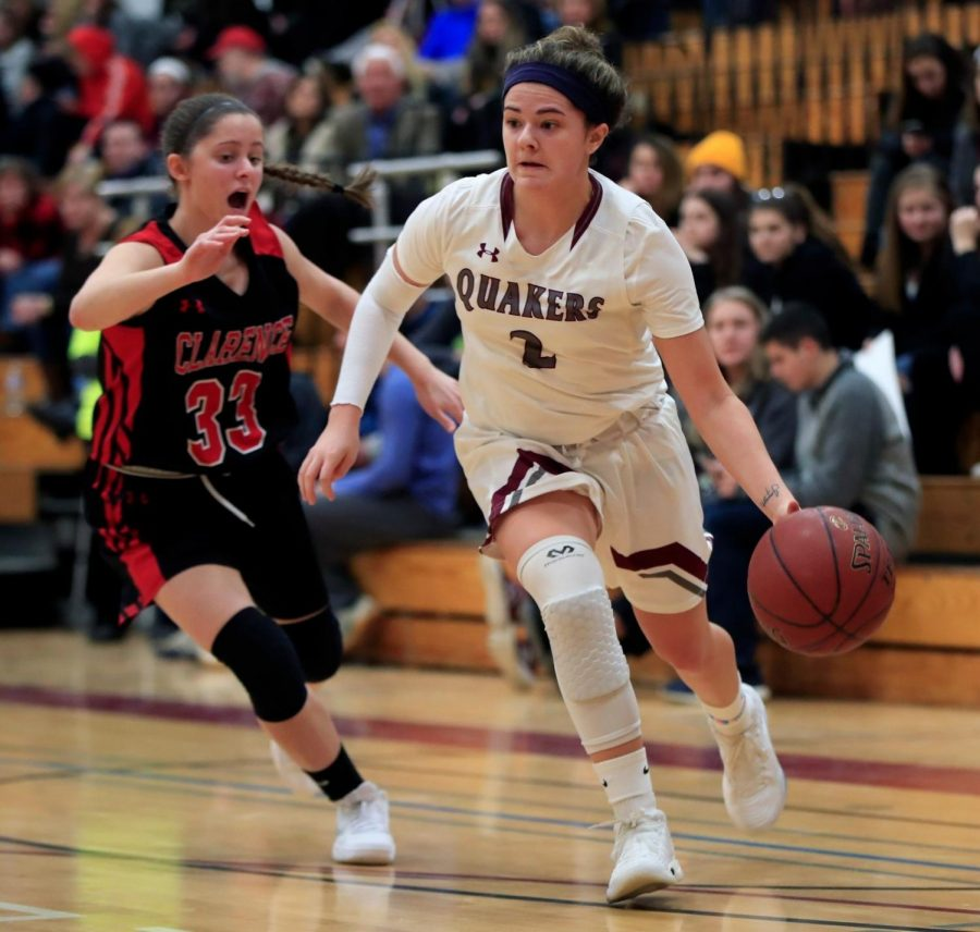 Girls' varsity basketball profile  Congratulations on winning Section 6 for the first time since 1997, and the second time EVER!