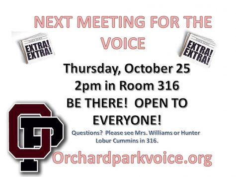 THE VOICE OCTOBER MEETING