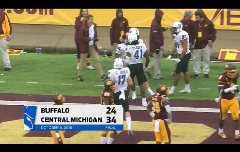 UB Spoils Central Michigan's Homecoming With 34-24 Win Over The Chippewas