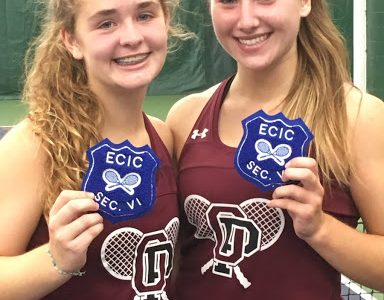 Orchard Park Girls Tennis Dominates at Sectionals
