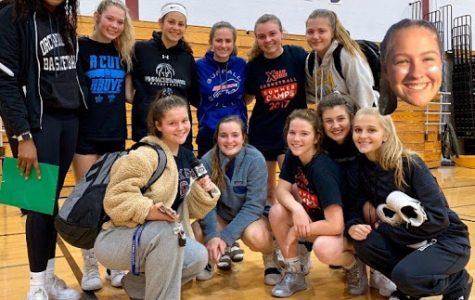 OPHS girls' varsity basketball team